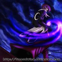 iori yagami by funeralwind