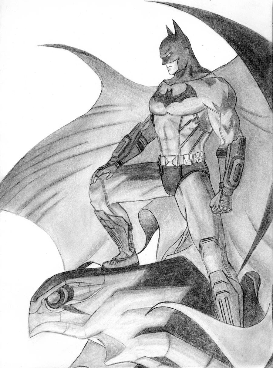 Batman -Jim Lee Arkham City ver.- by GTriggerEffect13 on ...