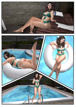 Curvy Series Part 2 - A Day at the Pool