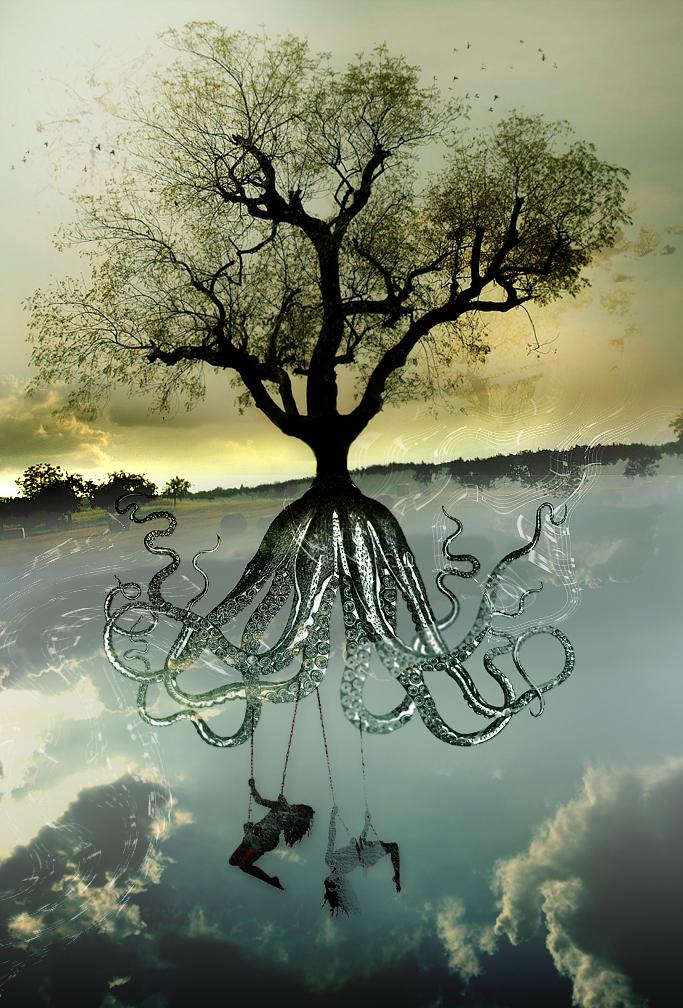 Octopus tree by zalzajer