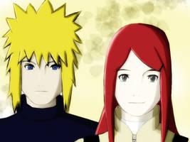 Minato and Kushina - Parents