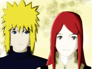 Minato and Kushina - Parents