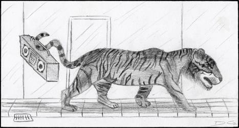 Tiger Pencil