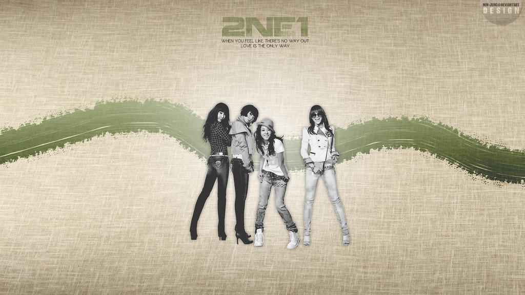 Wallpaper 14 -2NE1- by Min-Jung