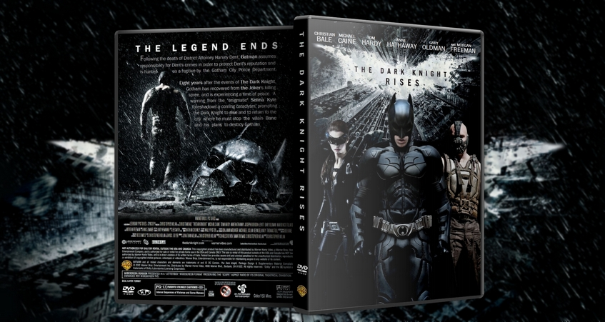 The Dark Knight Rises DVD Cover by Mike1306 on DeviantArt