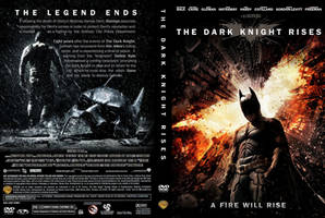 The Dark Knight Rises DVD Cover: A Fire Will Rise
