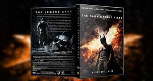 The Dark Knight Rises DVD Cover