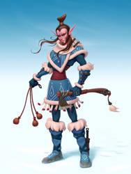 Northern elf-huntsman