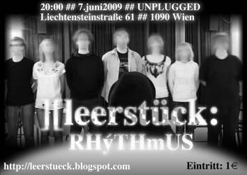 leerstueck - rhythmus by fabbazattt