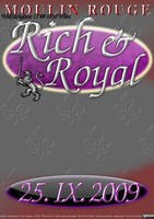 flyer: rich and royal