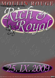 flyer: rich and royal by fabbazattt