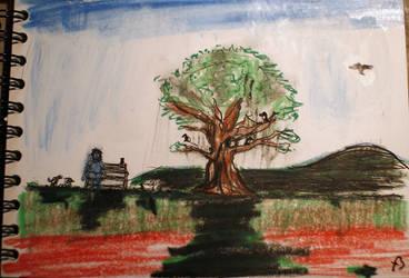 the tree by fabbazattt