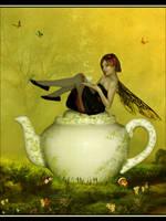 Tea Fairy by Cinnamoncandy