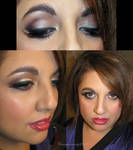 Go Ravens Makeup