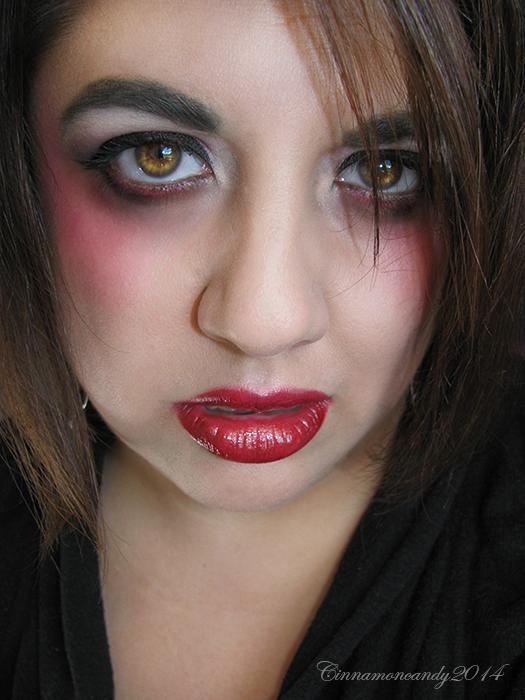 Vampire Makeup by Cinnamoncandy