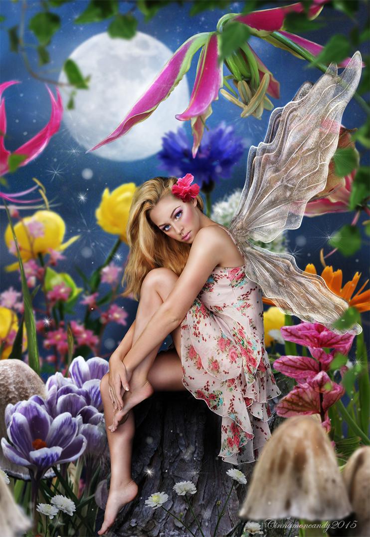 Flower Fairy by Cinnamoncandy