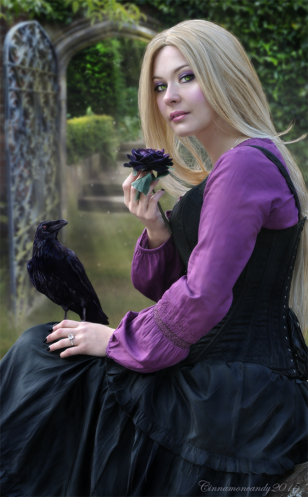 Lady Raven by Cinnamoncandy
