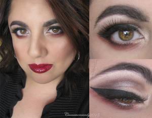 Halloween Makeup - Vampire 2 by Cinnamoncandy