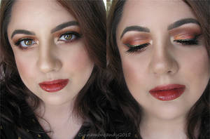 Autumn Spice Makeup