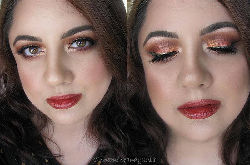 Autumn Spice Makeup by Cinnamoncandy