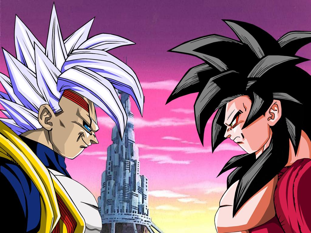 Wallpaper Baby Vegeta vs Goku Ssj4 by Dony910 on DeviantArt