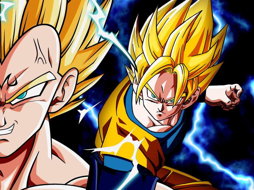 Wallpaper Goku Vs Majin Vegeta By Dony910
