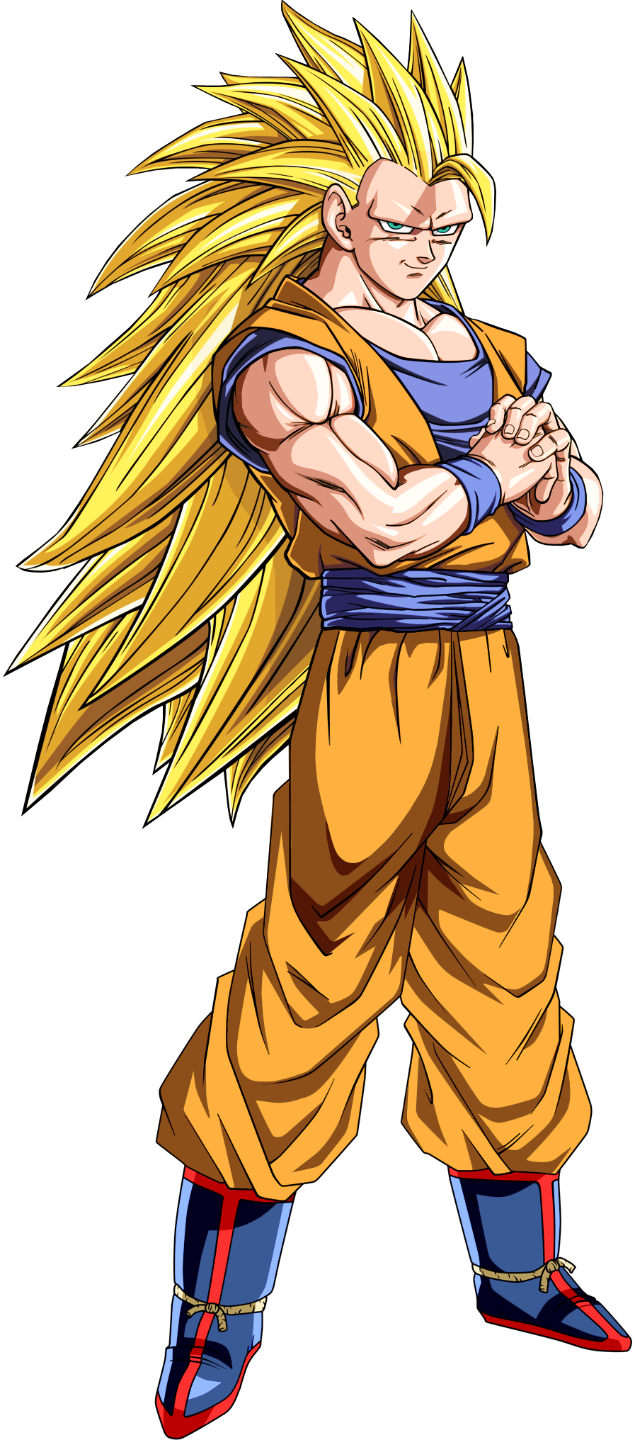 Gokú SSJ3 by dony910 | Dragon Ball Z | Pinterest | Goku ...