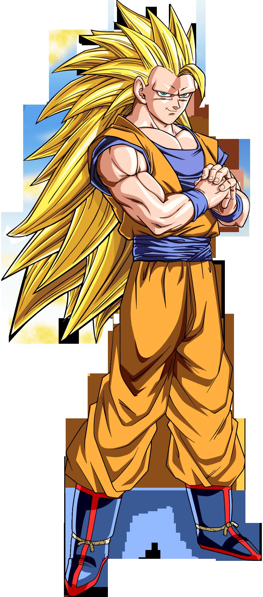 Gokú SSJ3 by dony910 | Dragon Ball Z | Pinterest | Goku ...