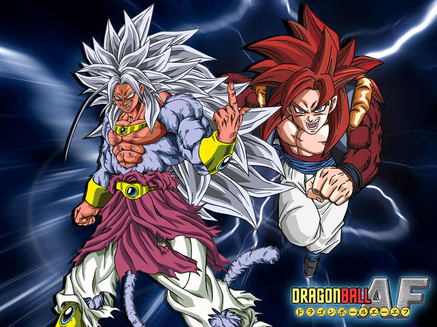 Broly Ssj5 vs Gogeta Ssj4 by Dony910 on DeviantArt