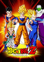 Poster Dragon Ball Z: Z Warriors by Dony910