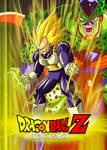 Poster Dragon Ball Z: Vegeta VS Cell