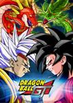 Poster Dragon Ball GT: Baby vegeta vs Goku