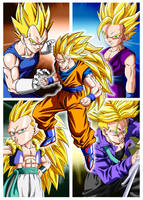 Poster DBZ Heroes by Dony910