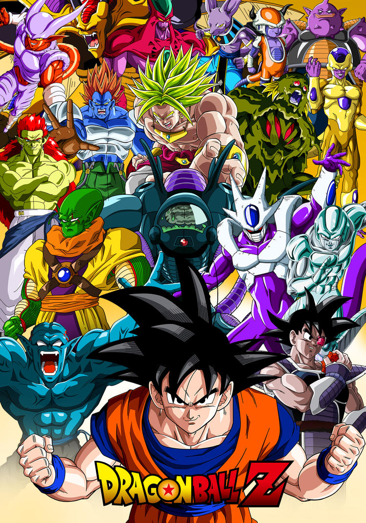 Poster Dragon Ball Z Movies by Dony910