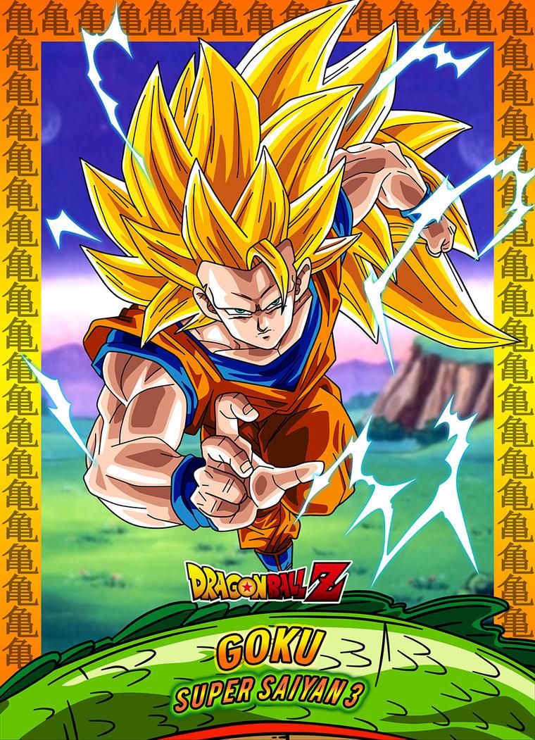 #5 Card Goku Ssj3 by Dony910