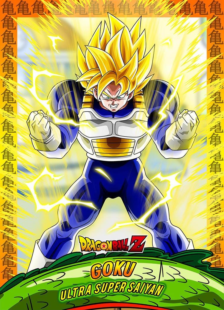 #6 Card Goku Ussj by Dony910