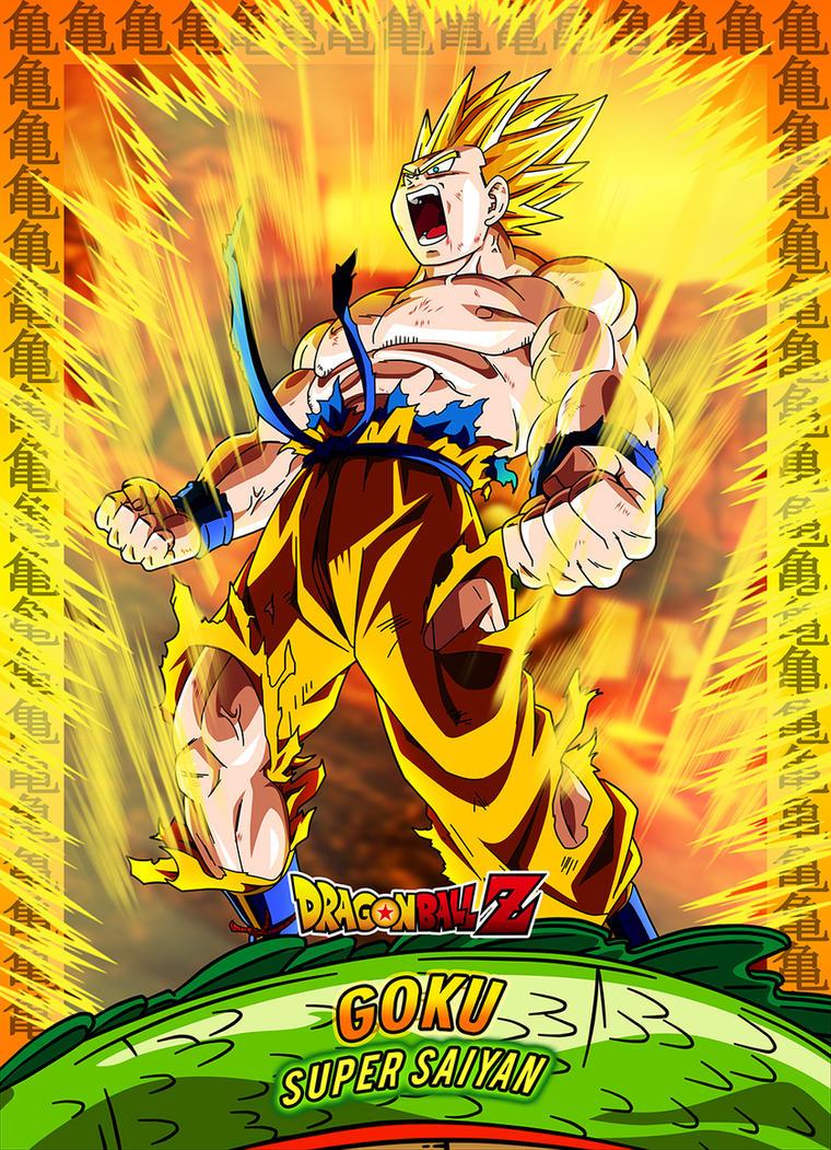 #8 Card Goku Ssj by Dony910