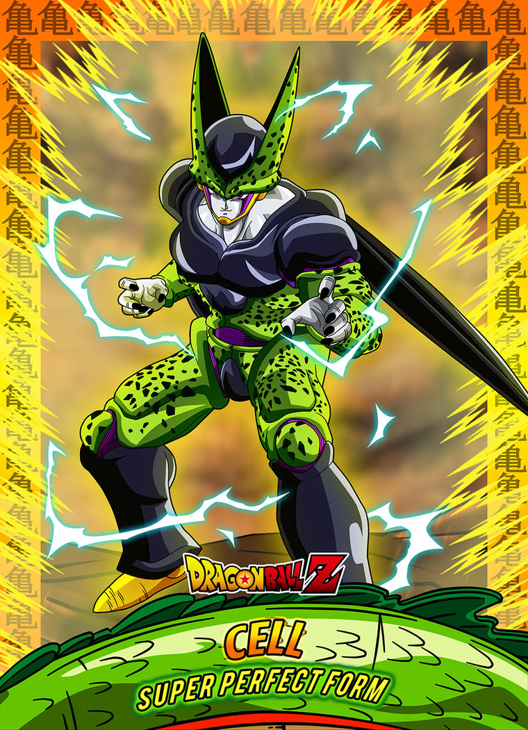 9 Card Cell Super perfect form by Dony910 on DeviantArt