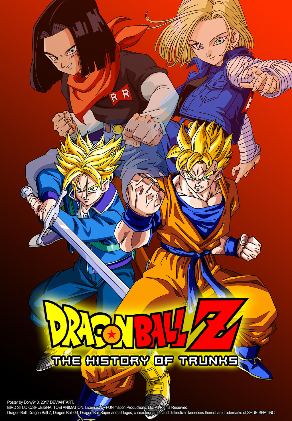 poster the history of trunks by dony910 on deviantart