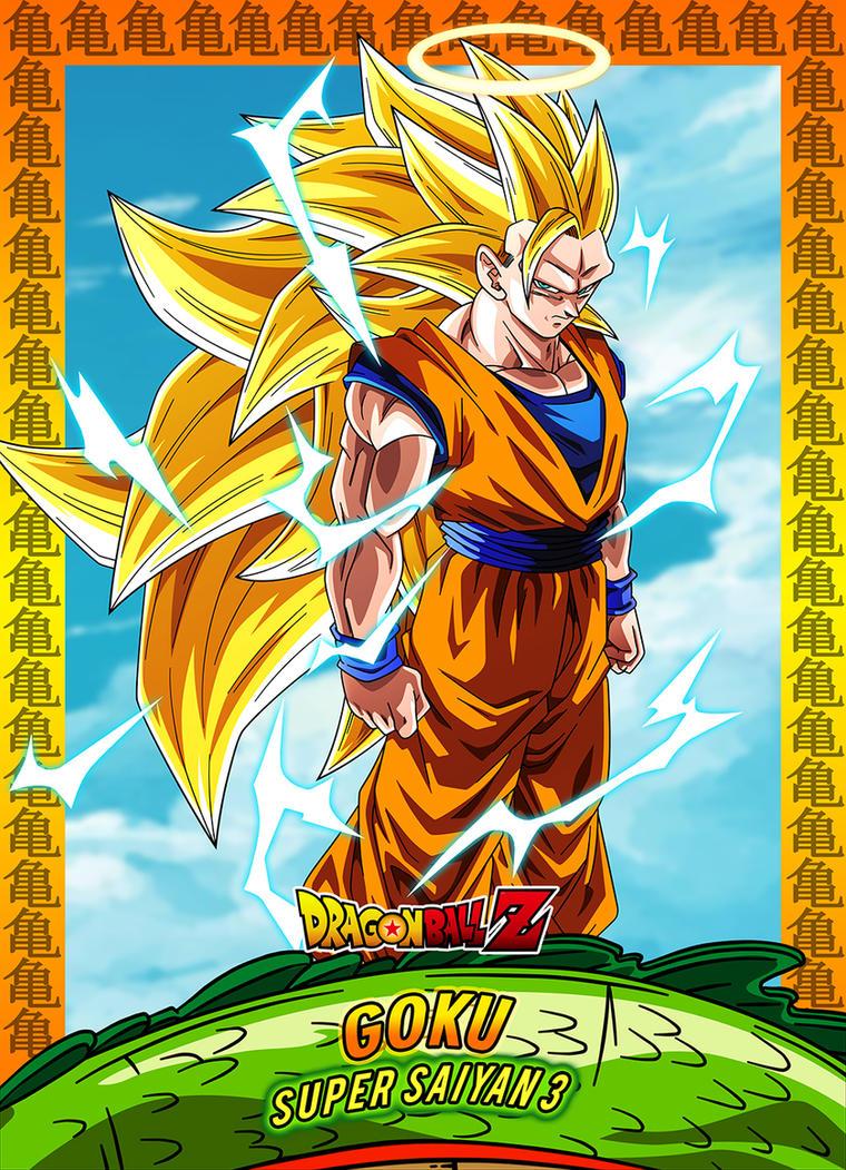 #10 Card Goku Ssj3 by Dony910