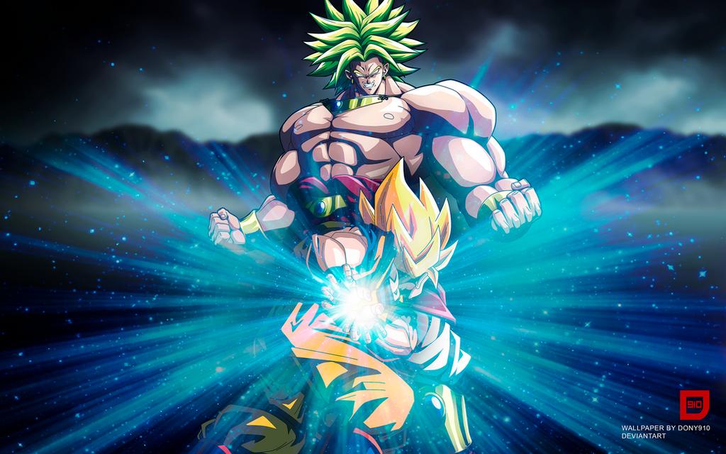 Goku vs Broly Wallpaper by Dony910
