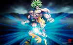 Goku vs Broly Wallpaper