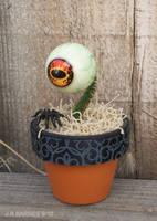 Tiny Potted Eyeball by JeyBarnes
