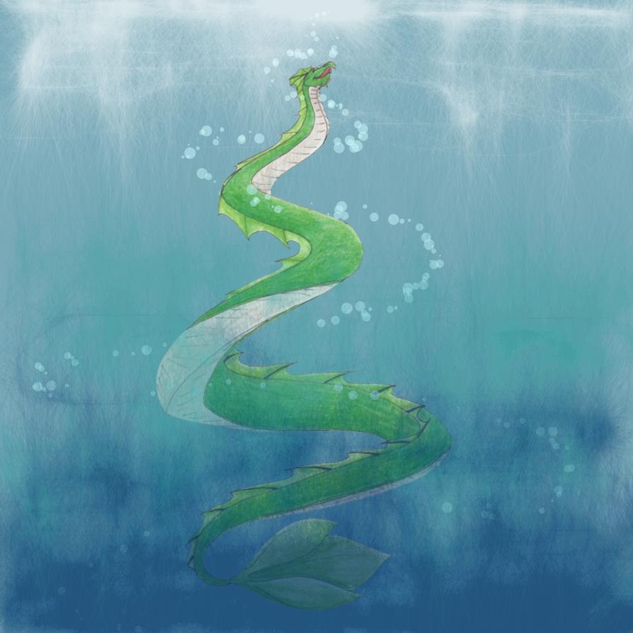 Serpent by InnocentLittleWolf