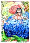 Letter girl [Spring]