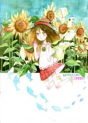 Letter girl [Summer] by Lucas-Bo