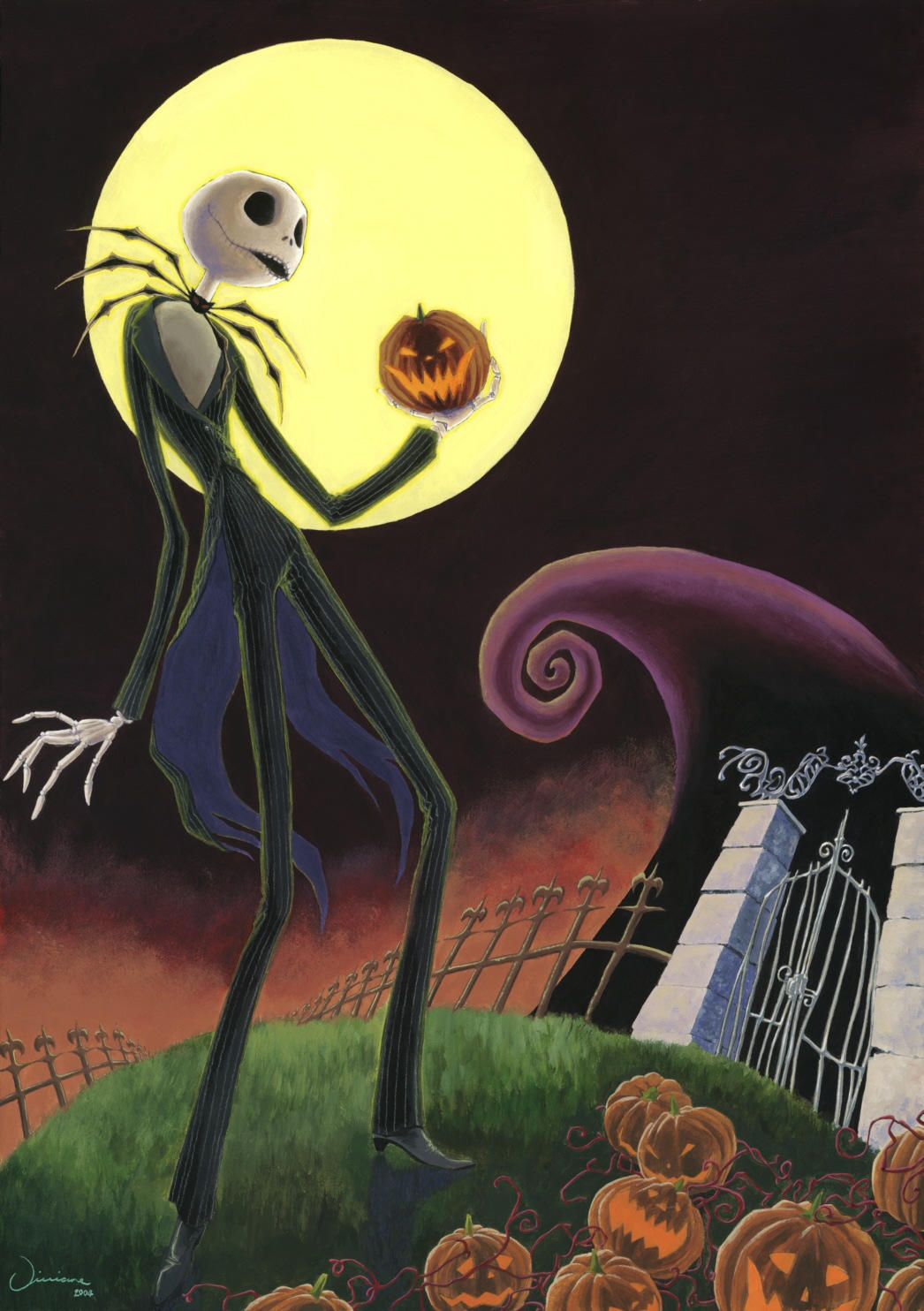 Nightmare Before Christmas by Viviane-ch on DeviantArt