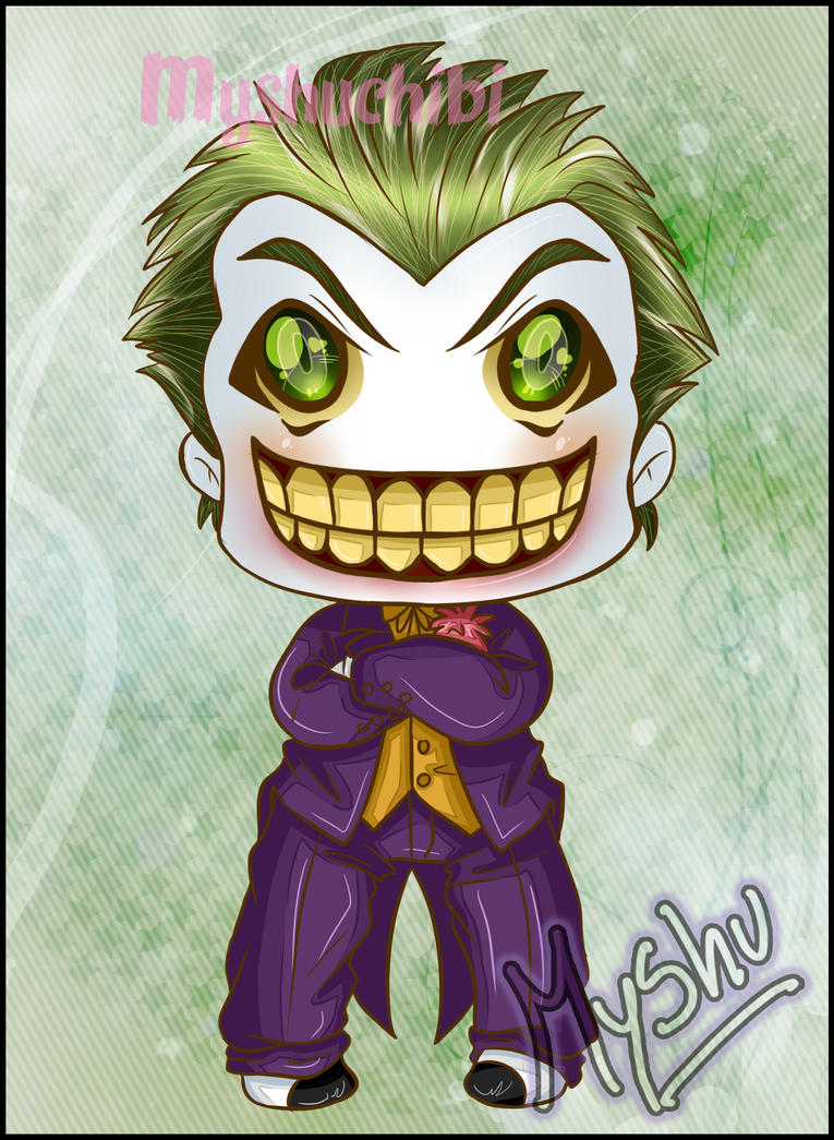Joker malote viejo chibi by DarkMysha on DeviantArt