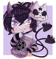Demon boy Commi by Myshumeaw