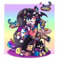 Chibi Contest LGBT by Myshumeaw